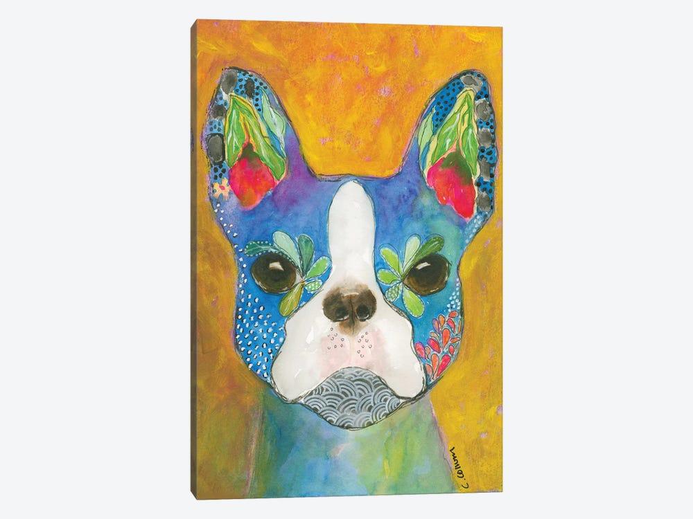 Boston Blue by Connie Collum 1-piece Canvas Artwork