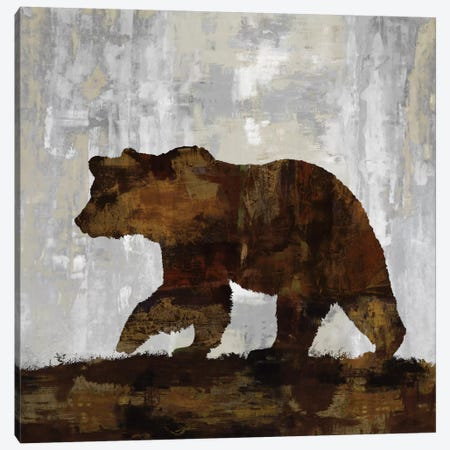 Bear Canvas Print #CCO1} by Carl Colburn Art Print