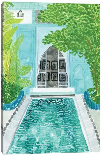 Blue Riad Canvas Art Print