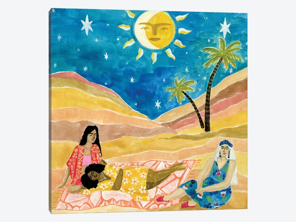 Moroccan Picnic by Caroline Chessia 1-piece Art Print
