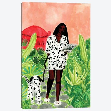 Dalmations Canvas Print #CCS19} by Caroline Chessia Art Print