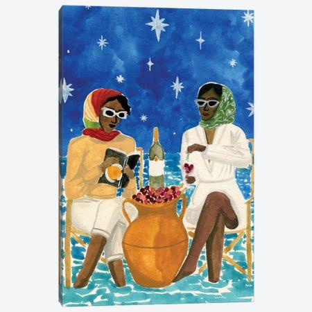 Mediterranean Vacation Canvas Print #CCS21} by Caroline Chessia Canvas Art