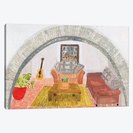 Medina Sidonia Canvas Print #CCS26} by Caroline Chessia Canvas Print