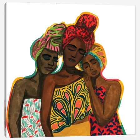 Sisterhood Canvas Print #CCS38} by Caroline Chessia Canvas Print