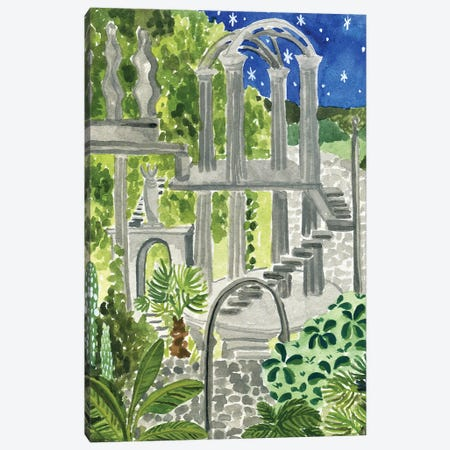 Secret Garden Of Xilitla Canvas Print #CCS3} by Caroline Chessia Canvas Wall Art