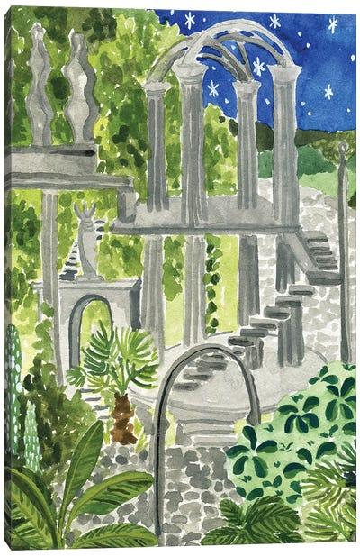 Secret Garden Of Xilitla Canvas Art Print