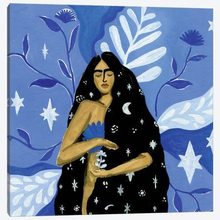 Spark Canvas Print #CCS42} by Caroline Chessia Canvas Art