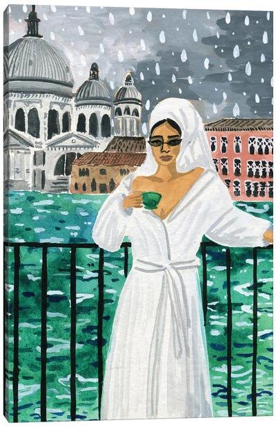 When in Venice Canvas Art Print