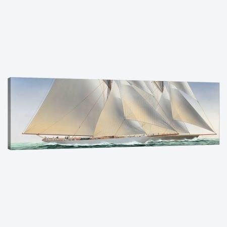 Classic Regatta Canvas Print #CDA1} by Christopher Davies Canvas Art