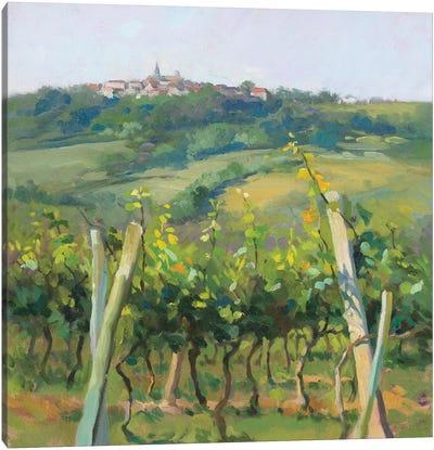 Flauvigny View Canvas Art Print