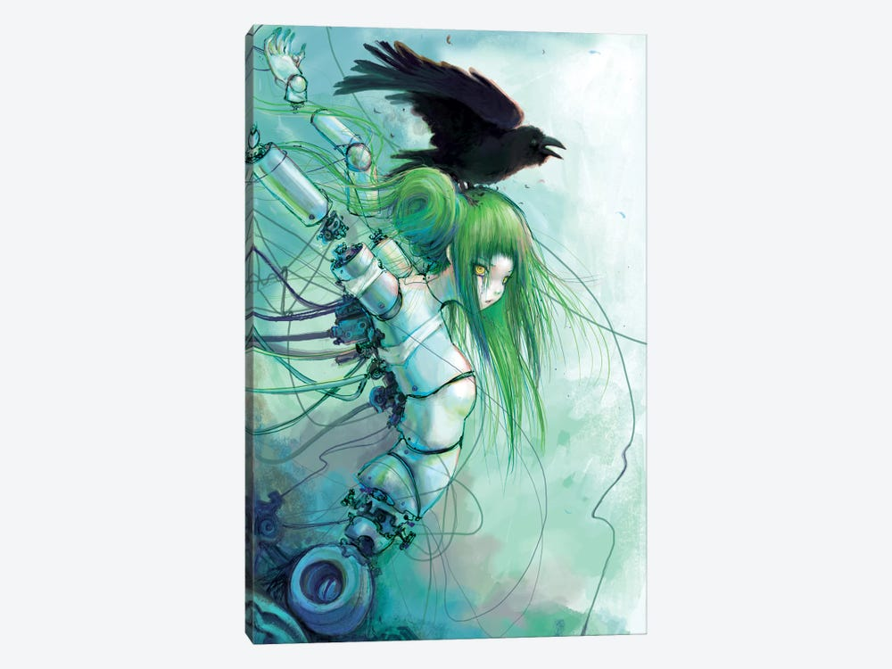 Disassembled Tears by Camilla d'Errico 1-piece Canvas Print