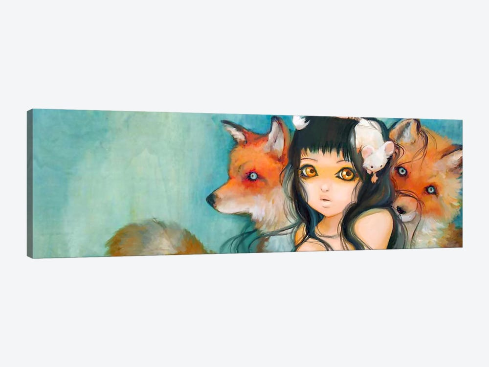 Familial Fur Trauma by Camilla d'Errico 1-piece Canvas Art Print