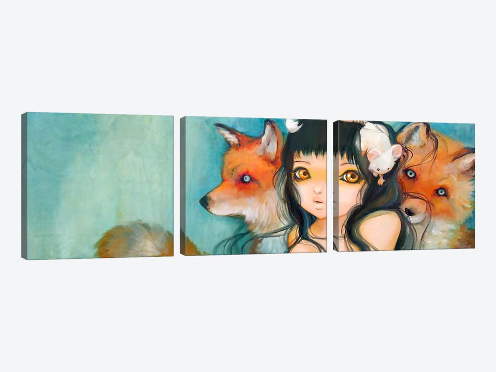 Familial Fur Trauma 3-piece Art Print