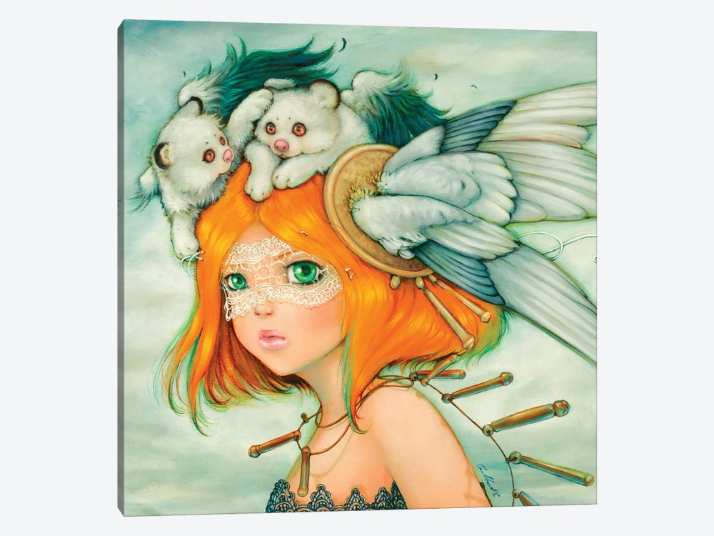 Grasslands Goddess by Camilla d'Errico 1-piece Canvas Artwork