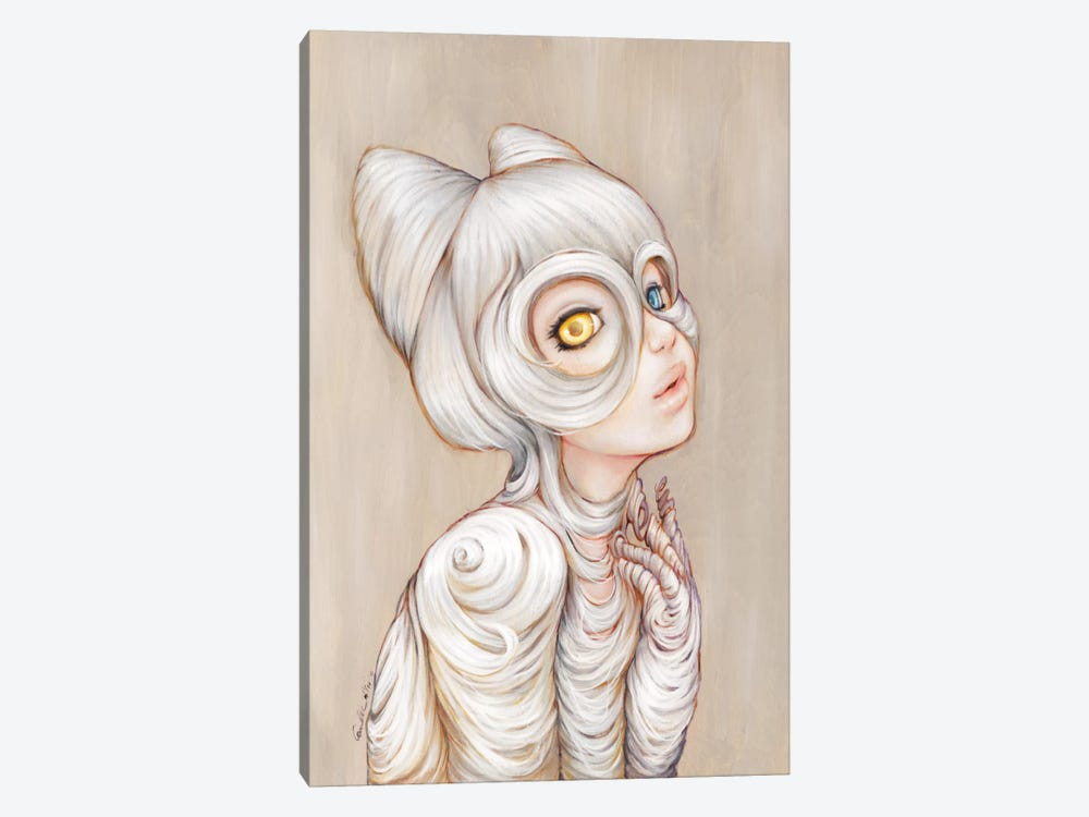 Hairball by Camilla d'Errico 1-piece Canvas Print