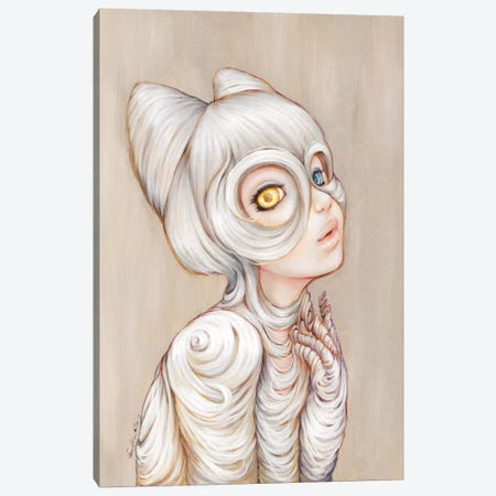 Hairball Canvas Print #CDE19} by Camilla d'Errico Canvas Wall Art
