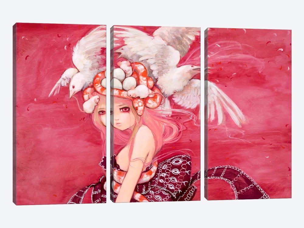 Aida by Camilla d'Errico 3-piece Canvas Wall Art