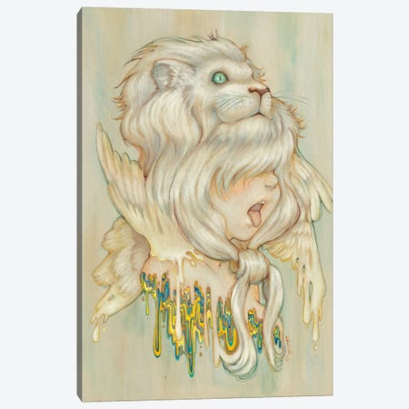 Hear Danielle Roar Canvas Print #CDE20} by Camilla d'Errico Canvas Art Print