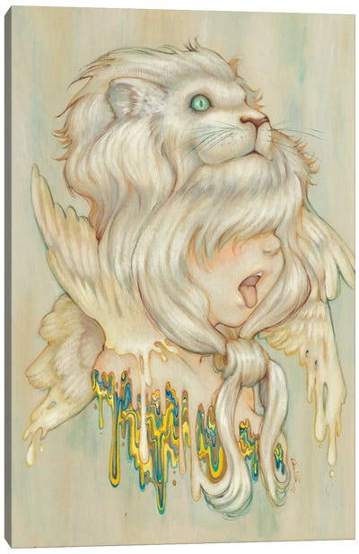 Hear Danielle Roar Canvas Art Print