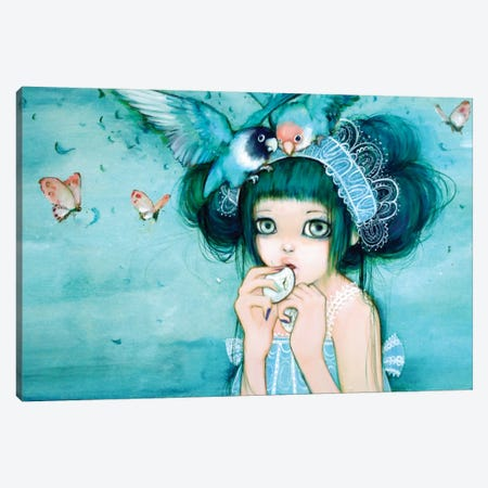 Love Love Hime Canvas Print #CDE21} by Camilla d'Errico Canvas Art Print