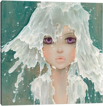 Milkfall Canvas Art Print