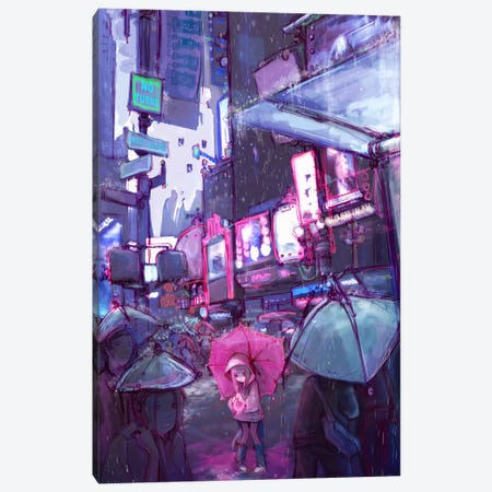 Neo New York Canvas Print #CDE25} by Camilla d'Errico Canvas Art