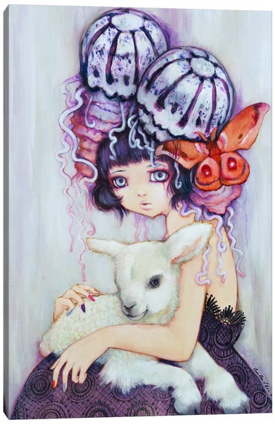 Silence of the Lamb Canvas Art Print