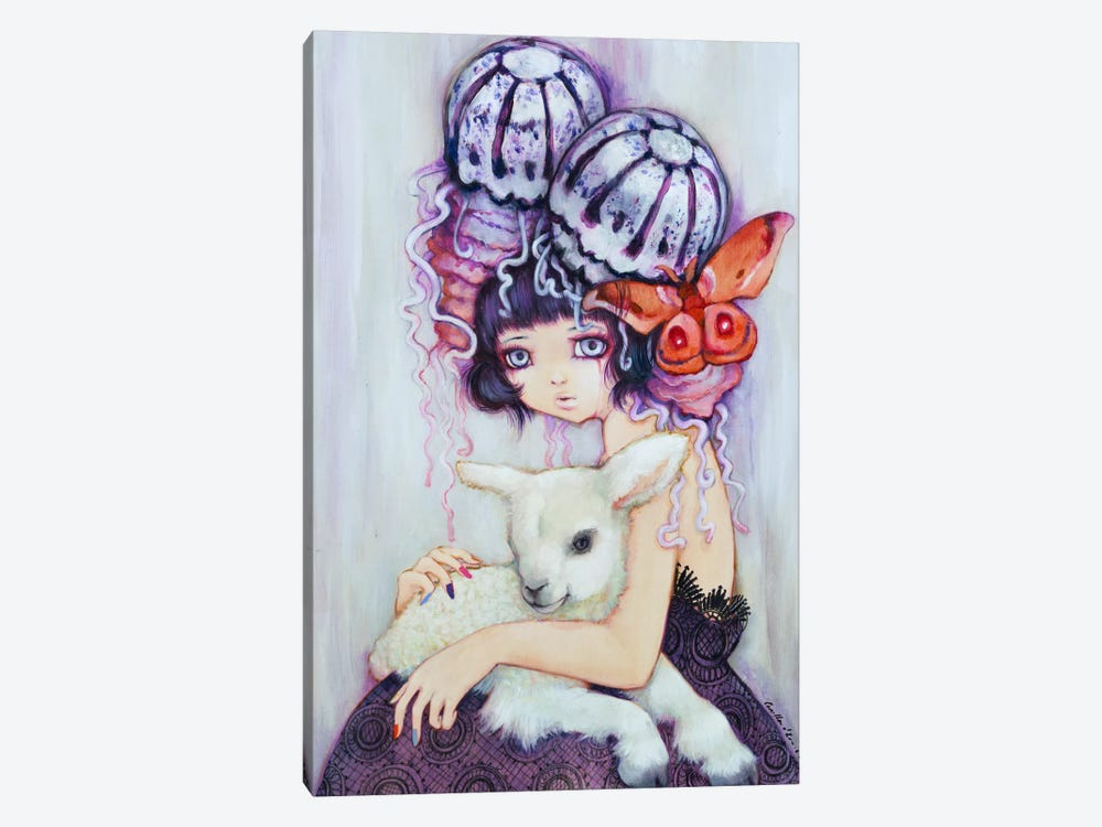 Silence of the Lamb by Camilla d'Errico 1-piece Art Print