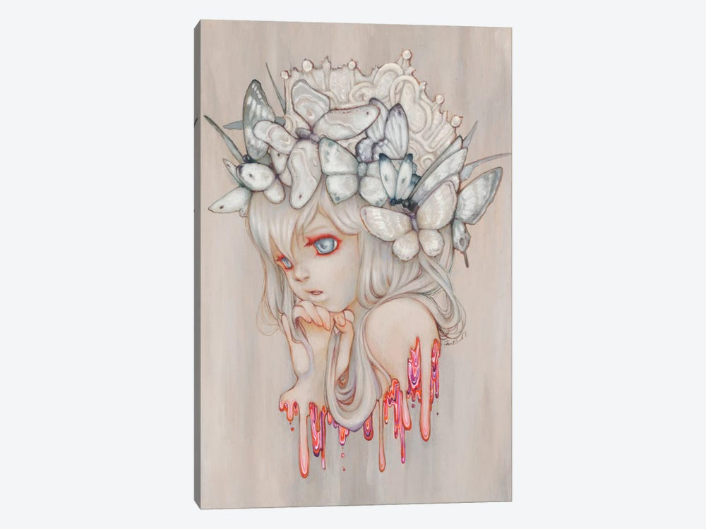 Strawberry Whispers by Camilla d'Errico 1-piece Canvas Artwork