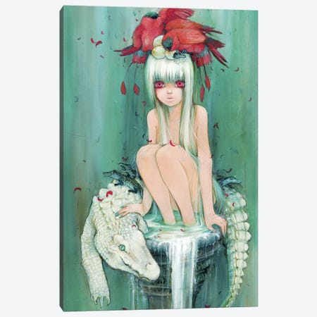 The Milk Fountain Canvas Print #CDE34} by Camilla d'Errico Canvas Print