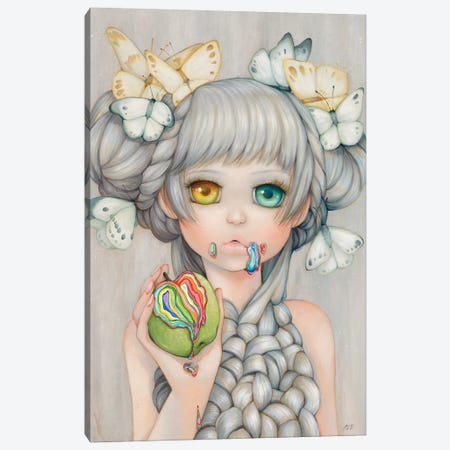 Eve Canvas Print #CDE43} by Camilla d'Errico Art Print