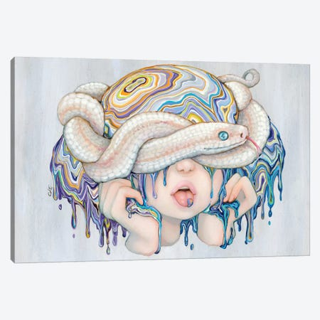 Mamba Mia Canvas Print #CDE46} by Camilla d'Errico Canvas Wall Art