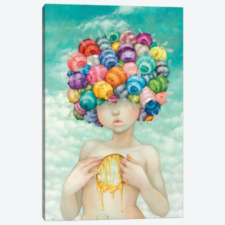 Bonnie Bonnet Canvas Print #CDE59} by Camilla d'Errico Canvas Artwork