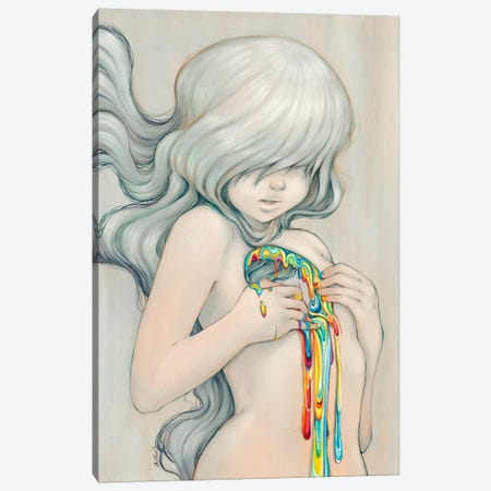Beyond the Rainbow Canvas Print #CDE5} by Camilla d'Errico Canvas Art Print