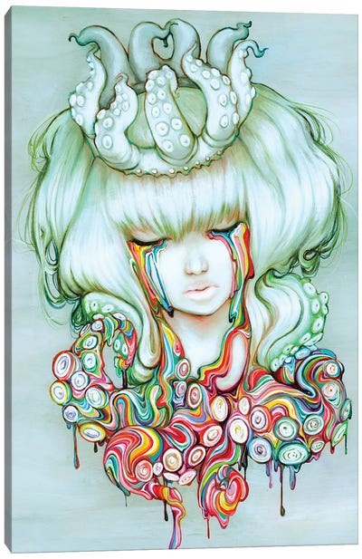The Dream Melt Canvas Art Print