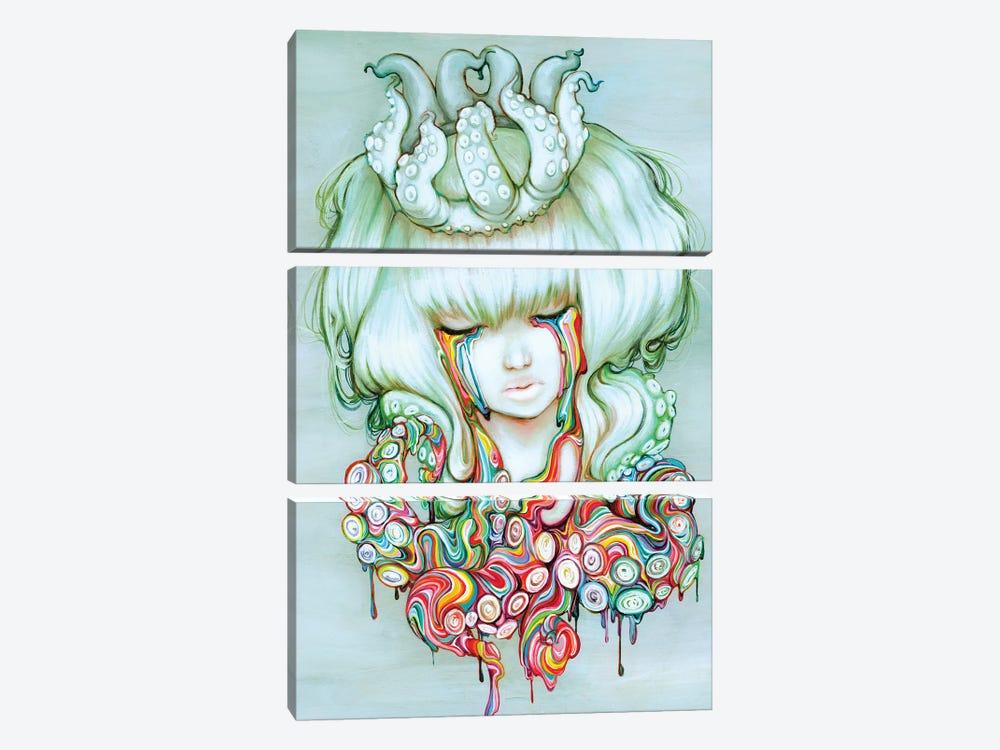 The Dream Melt by Camilla d'Errico 3-piece Canvas Print