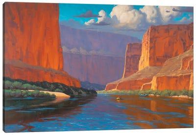 Drifting Along Canvas Art Print