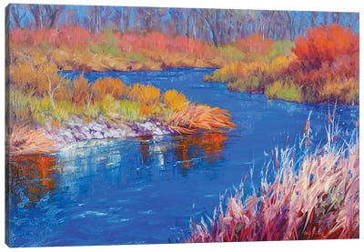 January On The Verde Canvas Art Print