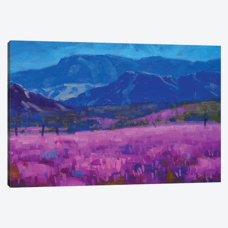 Levender Carpet Canvas Print #CDG16} by Cody DeLong Canvas Art Print