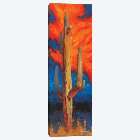 Man On Fire Canvas Print #CDG17} by Cody DeLong Canvas Art Print
