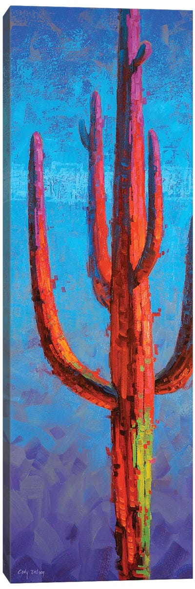 Red Guardian I Canvas Art Print
