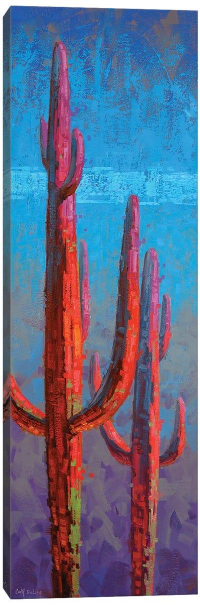 Red Guardian II Canvas Art Print