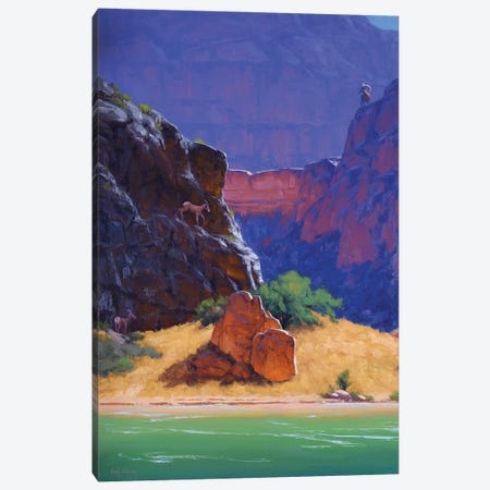 Between A Rock And A Hard Place Canvas Print #CDG2} by Cody DeLong Canvas Art