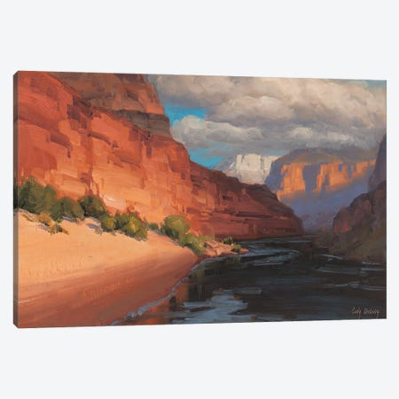 Study For The Hunter Canvas Print #CDG33} by Cody DeLong Canvas Artwork