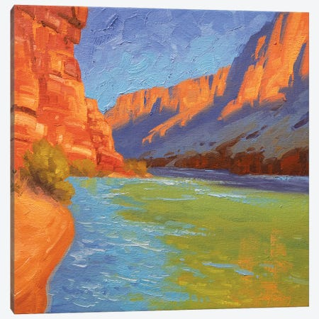 Study For Sun And Sandstone Canvas Print #CDG38} by Cody DeLong Canvas Wall Art
