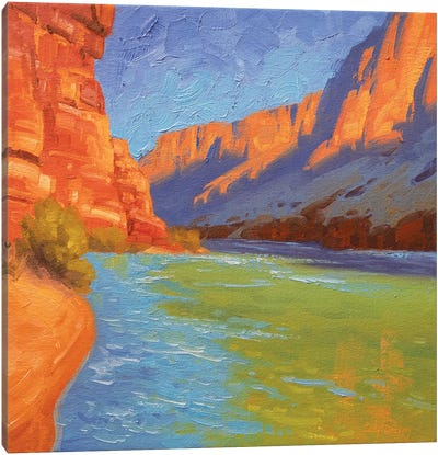 Study For Sun And Sandstone Canvas Art Print