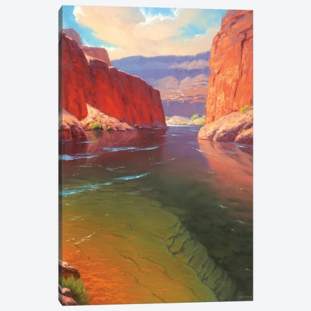 Depths Of The Canyon Canvas Print #CDG8} by Cody DeLong Canvas Wall Art