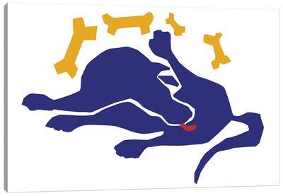 Matisse Dog Canvas Art Print