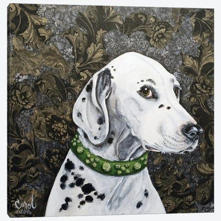 Playful Pup II Canvas Print #CDL19} by Carol Dillon Art Print