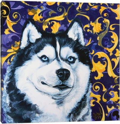 Playful Pup IV Canvas Art Print